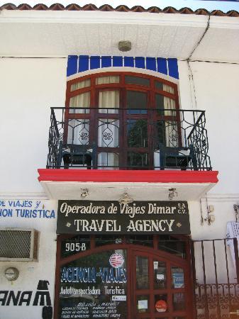 Hotel Casa Blanca: balconcino