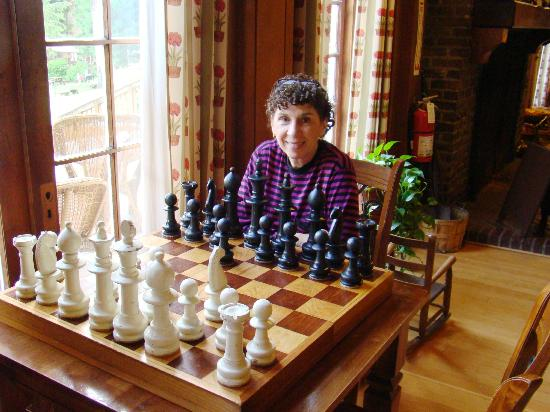 Chess Board in Quinault Lodge