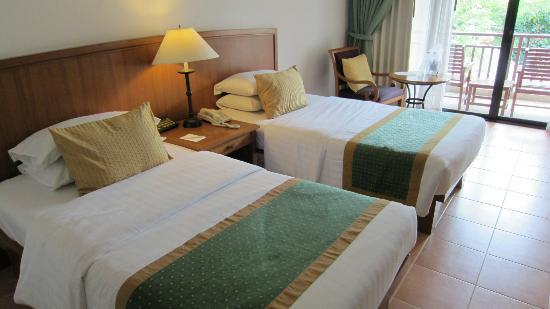 Woodlands Hotel & Resort: デラックスツイン