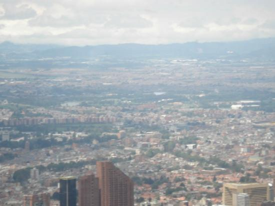 Cerro de Monserrate: City view