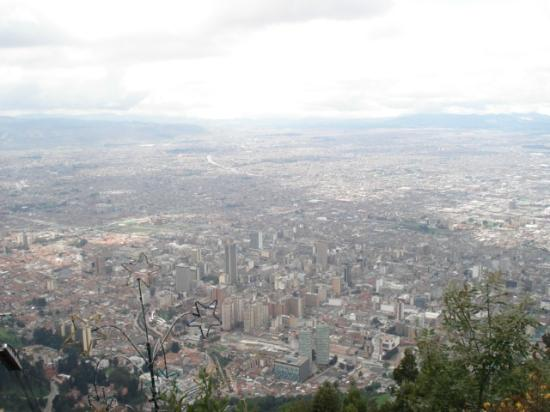 Cerro de Monserrate: City view form Monserrate