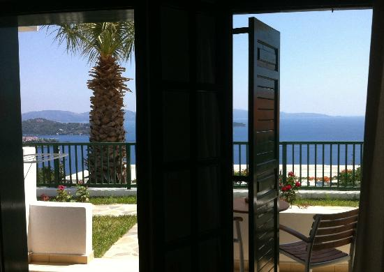Skiathos Club Hotel Suites: View from our room.