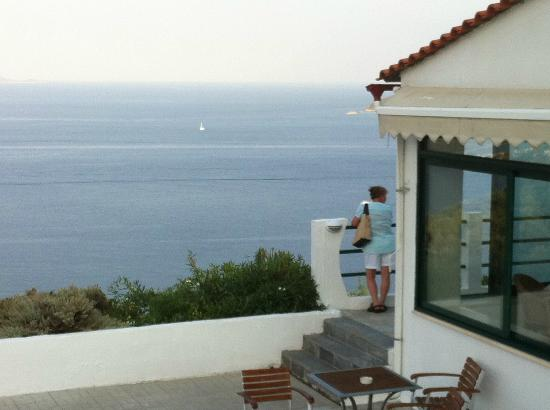 Skiathos Club Hotel Suites: View from the hotel.