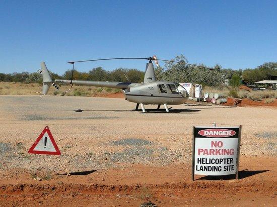 Kings Creek Station: Excursión en helicóptero