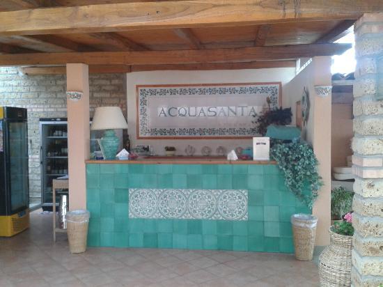 Hotel Acquasanta: bar