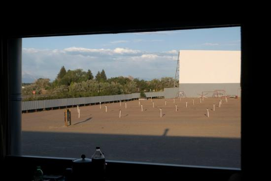 Best Western Movie Manor: Movie screen from your room