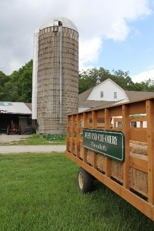 West End Creamery: Our Silo