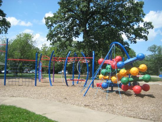 Fejervary Park and Aquatic Center: Playground