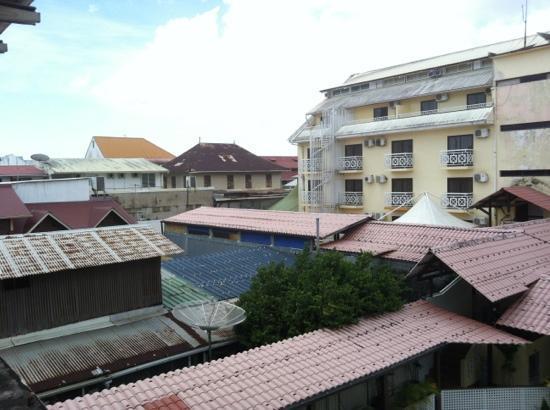 Best Western Hotel Amazonia : vue de la chambre 211
