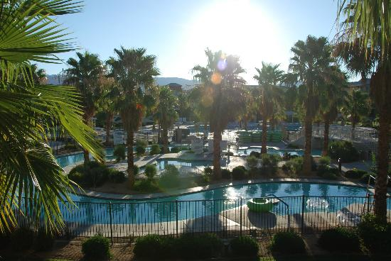 view from our balcony of the lazy river picture of. Black Bedroom Furniture Sets. Home Design Ideas