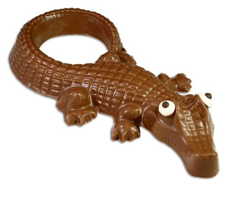 Angell & Phelps Chocolate Factory: Solid Chocolate Alligator