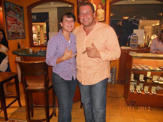 Kassar & Jay Cigar Emporium friends