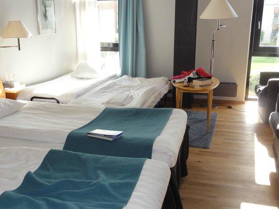 Quality Hotel 11: Zimmer mit 2 Zustellbetten