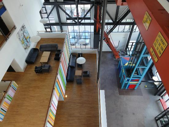 Quality Hotel 11: Sitzmöglichkeiten im hinteren Bereich