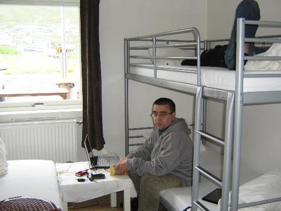 Nordkapp Vandrerhjem Hostel: Трёхместная комната