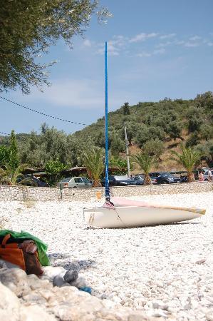 Ammoussa Beach: white beach
