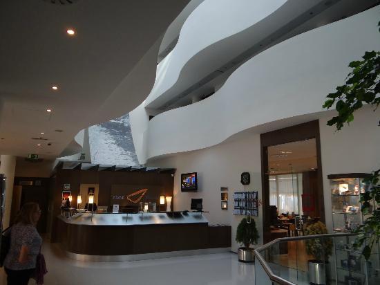 abba Huesca Hotel: La reception