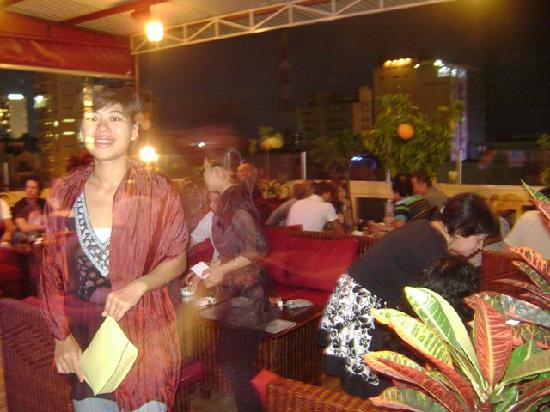 Ha Van Hotel: The Rooftop Lounge cool place to relax