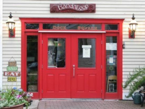Bandaloop: Big Red Front Door on Cross Street