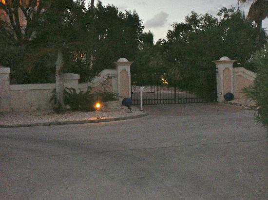 "Point Grace: The entrances had ""PG"" on the gates. So pretty"