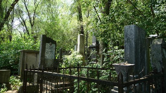 Chisinau, Moldova: Graves in the Jewish Cemetery