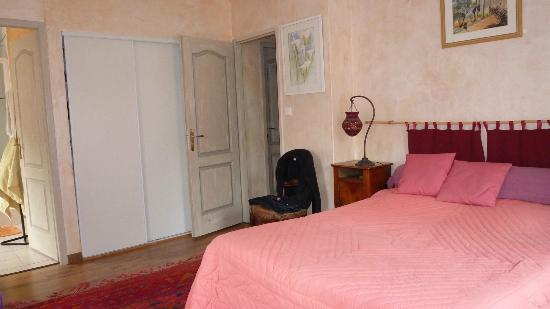 Feas, Francia: La chambre Rose
