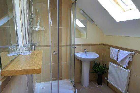Hamill's B&B: Ensuites with power showers and natual light.