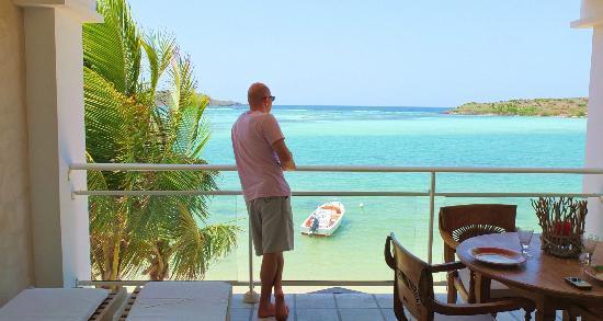 Hotel Les Ondines Sur La Plage: Grand cul de sac, vue de la chambre Ludivine, 1er étage