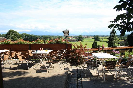 Hotel Gasthaus Mesnerwirt: Dejlig udsigt