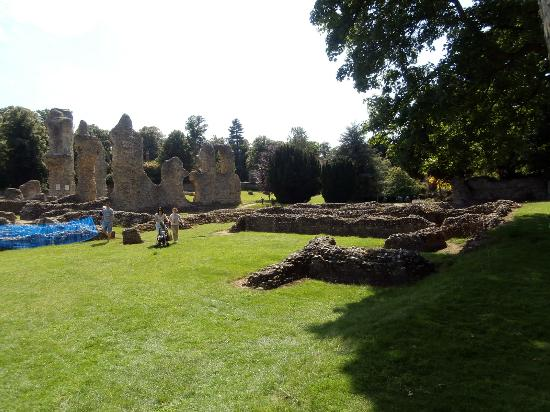 The Abbey: ruins and garden in hamony