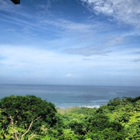 Santa Teresa Surf Vista Villas: View from deck