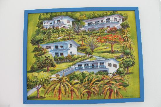 Agape Cottages: Painting of Agape