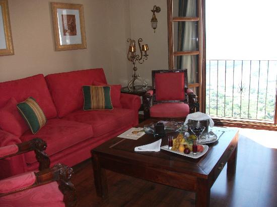 Hotel Montelirio: lounge area