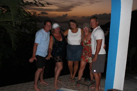 Agape Cottages: Us with Awesome Donna