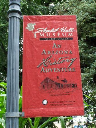 Sharlot Hall Museum : Museum Sign Post