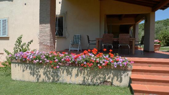 Il Casale Del Madonnino: Terrace on ground floor