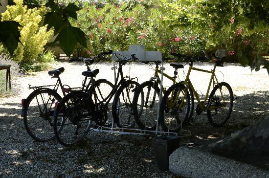 La Garance en Provence : Ready for a bike ride