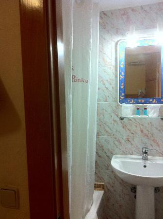 Hostal Europa Punico: baño