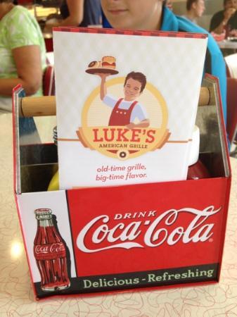 Luke's American Grille: Luke's diner