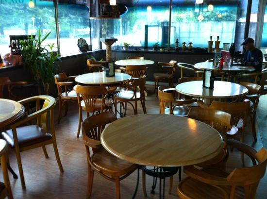 The River Cafe: A bright and cheery interior