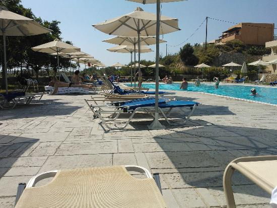 Mikri Poli Rhodos Resort: The last pool, the most peaceful one.