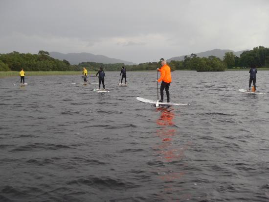 County Sligo, Irlanda: Out in the water