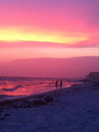 Gulfgate Condos: Gorgeous sunset!