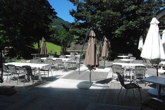Hotel Beauregard: Terrasse