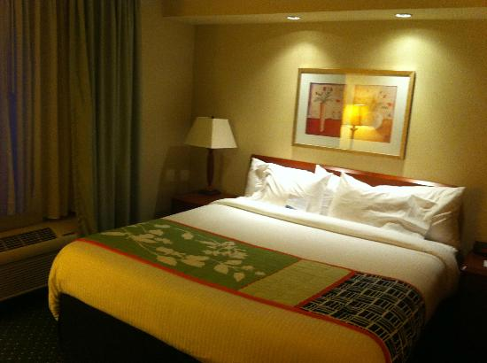 Fairfield Inn & Suites Denton: Great stay,nice and comfy bed