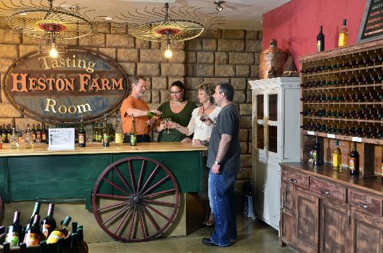 Heston Farm Winery Tasting Room