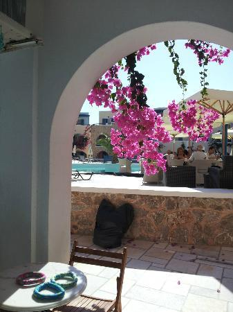 Aegean Plaza Hotel: View from terrace