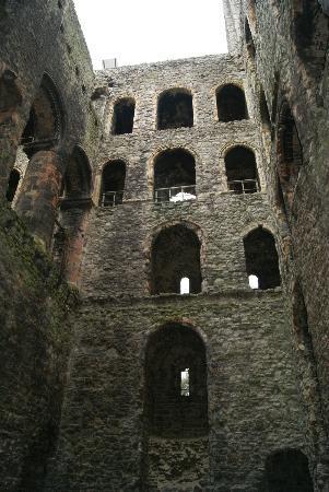Rochester Castle: Innen