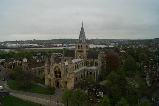 Rochester Castle: Kirche