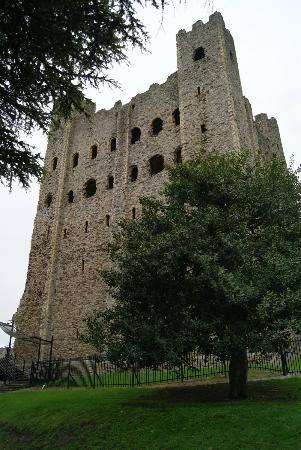 Rochester Castle: Aussen